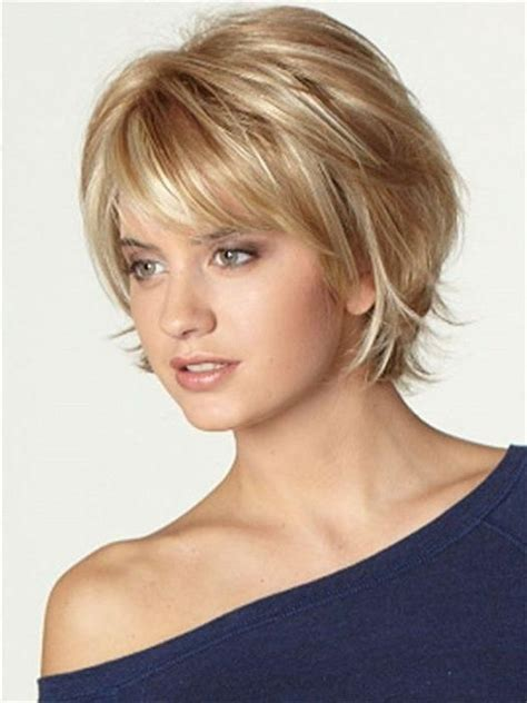 layered hair on top with short banes with shoulder length hair 20 photo of short haircuts with bangs and layers