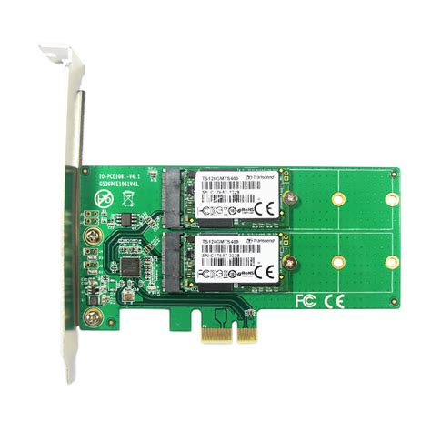 M2 Pcie Pci E To Ngff M 2 M Key Kabel Konverter Molex 4x pci express dual m 2 sata ssd card pcie to 2x ngff b m key slot adapter with pci e low profile