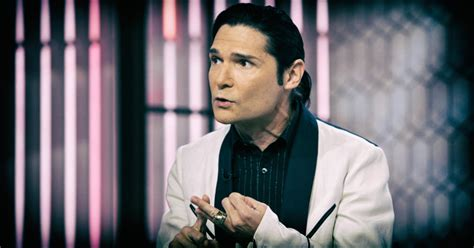 corey feldman shares police tape the and the knowledge of the shall set you