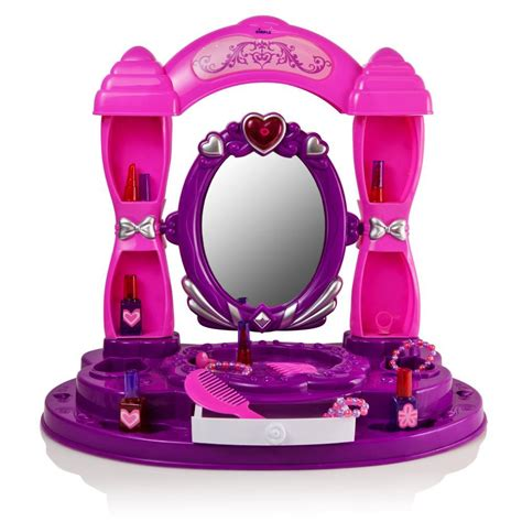 Mainan My Princess Vanity Table Promo dimple dc11594 table top vanity set princess with build in mirror shelves