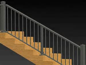 Handrail Kits For Stairs by Planning Amp Ideas Stair Railing Kits Plans Stair Railing