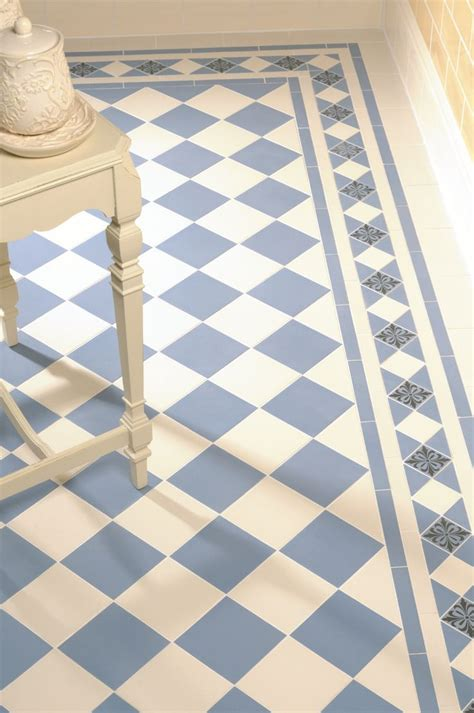 blue border tiles for bathrooms 25 best ideas about bathroom floor tiles on pinterest