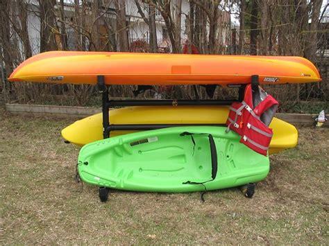 Kayak Outdoor Storage Rack by 25 Best Ideas About Kayak Storage Rack On