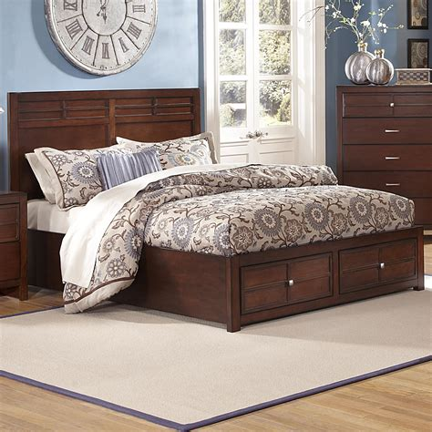 low height bed queen low profile bed with storage footboard by new