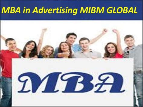 Mba In Advertising Usa by Advertising Branch Of Any Association Is Mba In