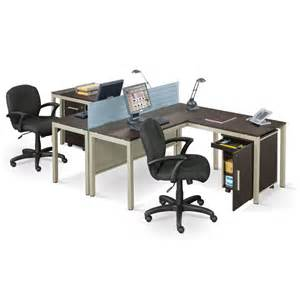 2 Person Desks Two Person Workstation For Office And Home Office Homesfeed