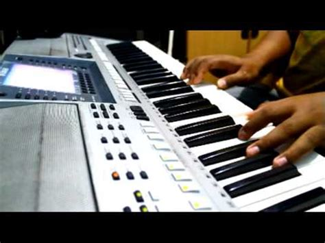 tutorial keyboard lagu rindu lagu rindu piano cover youtube
