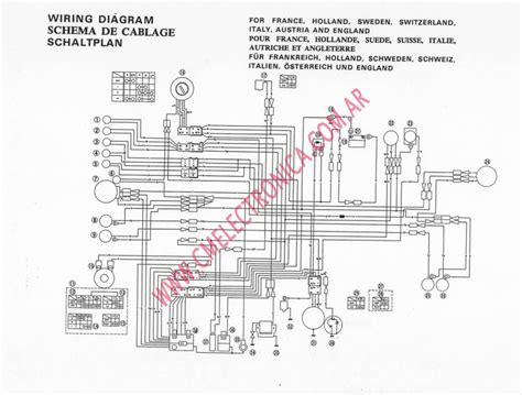 xt500 1978 wiring diagram wiring diagram schemes