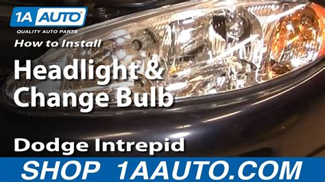 how cars engines work 2002 dodge intrepid spare parts catalogs how to replace headlight and bulb 98 04 dodge intrepid youtube