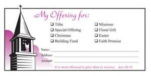 offering envelopes quotes