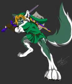 link color anthro wolf link color by gunzcon on deviantart
