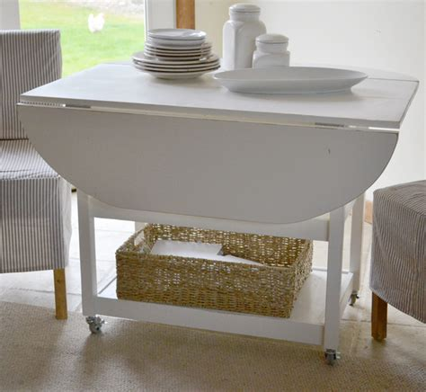 Diy Drop Leaf Table White Drop Leaf Storage Table Diy Projects