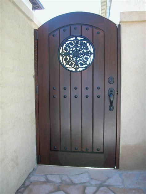 custom wood gate  garden passages wwwgardenpassagescom