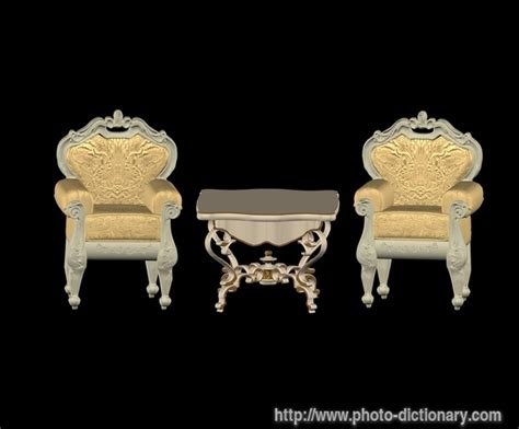 upholstery meaning in english furniture photo picture definition at photo dictionary