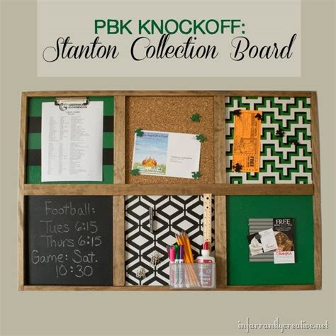 Decorative Bulletin Boards For Home Pottery Barn Knock Command Center Bulletin Board Pinterest Home Decor