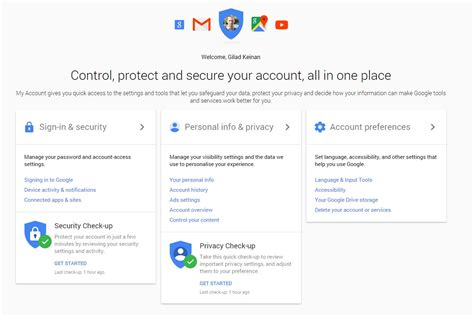 blogger sign in google myaccount control protect and secure your