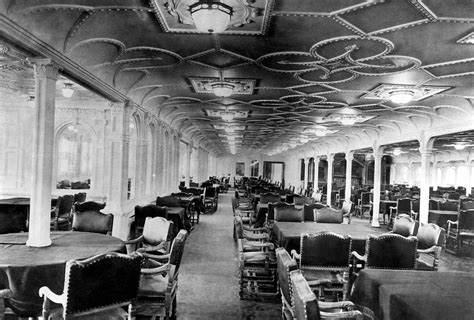 titanic dining room the dining room of the rms titanic by everett