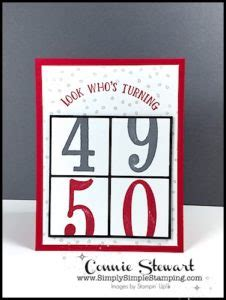 Whos Turning 50 In 2008 by Make It Monday Look Who S Turning 50 Card Simply