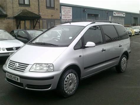volkswagen sharan for sale used volkswagen sharan car 2006 silver diesel 2 0 tdi s