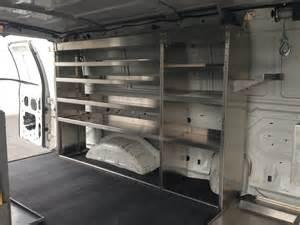 shelves for cargo cargo standard shelving units plumbingvans