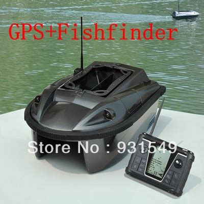 fishing bait boat with gps electronic remote control baitboat with gps fish finder