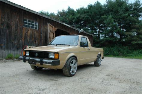 volkswagen rabbit truck 1982 1982 vw caddy rabbit 1 9 aaz motor for sale photos