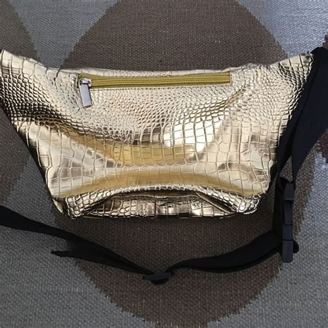Waist Bag Crossbody Bag Scouts Ravre sojourner bags sojourner bags gold metallic croc skin pack from nathan s closet on poshmark