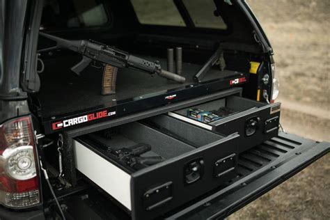 truck bed vault defconbrix bed storage solutions cargoglide