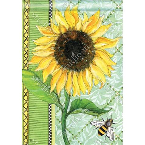 double sided house flags magnet works single sunflower double sided house flag flagsrus org