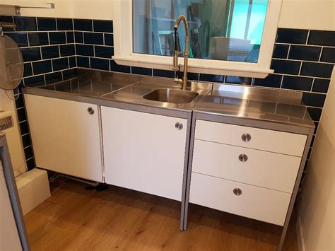 Ikea Sink Units by Ikea Udden Work Table Stainless Steel Freestanding