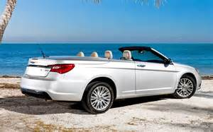 2012 Chrysler 200 Convertible The 2012 Chrysler 200 Convertible Is An Easy Cruiser With