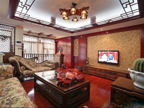 define livingroom 中式电视背景墙装修效果图图片