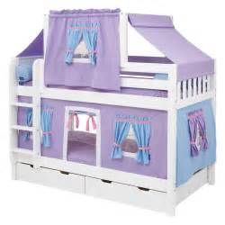 Bed Tents For Bunk Beds Purple Bunk Bed With Deluxe Tent