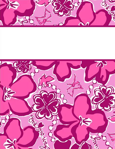 pretty printable binder covers my cute binder covers happily hope