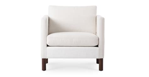 white armchair nova creamy white armchair lounge chairs article modern mid century and