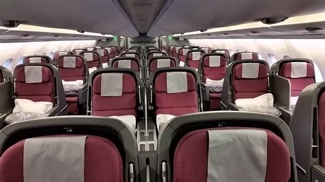Qantas A380 Interior by Qantas A380 Cabin Walkthrough Deck