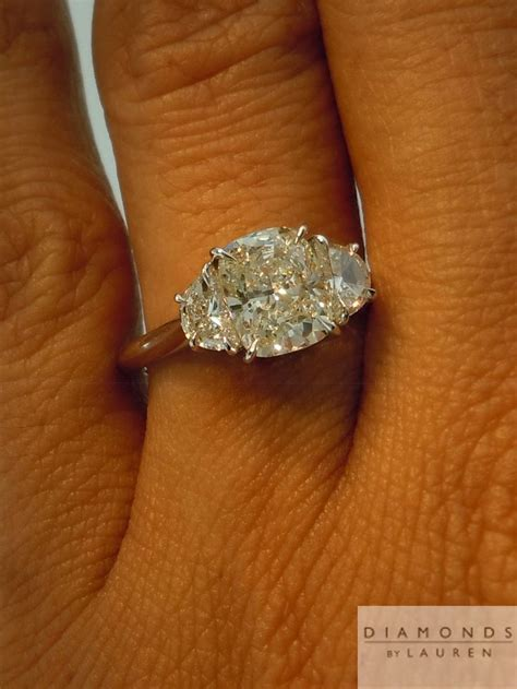 Best 25  Side stone engagement rings ideas on Pinterest