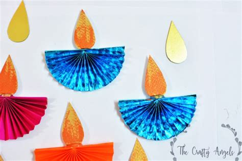 Paper Craft Ideas For Diwali - diwali craft for paper diya