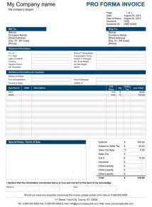 Proforma Invoice Template India Proforma Invoice Free To Do List
