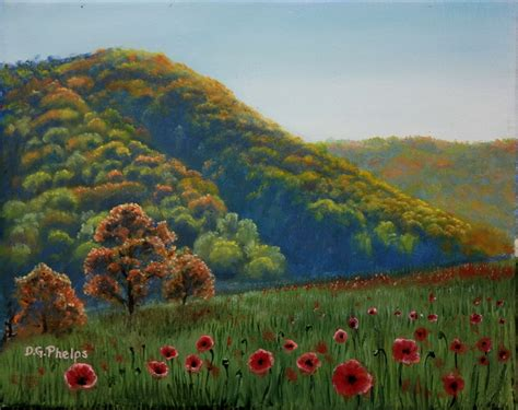 how to paint mountains landscapes using a great shortcut