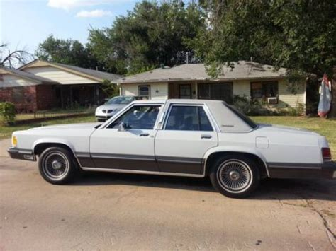 small engine maintenance and repair 1995 mercury grand marquis electronic throttle control buy used 1988 mercury grand marquis ls sedan 4 door 5 0l in oklahoma city oklahoma united