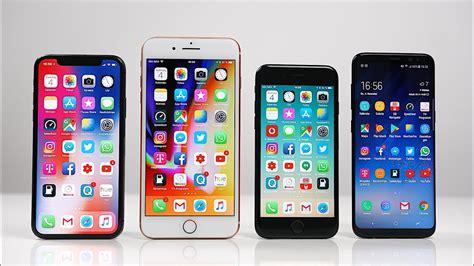 apple x vs samsung s8 apple iphone x vs iphone 8 plus vs iphone 7 vs samsung