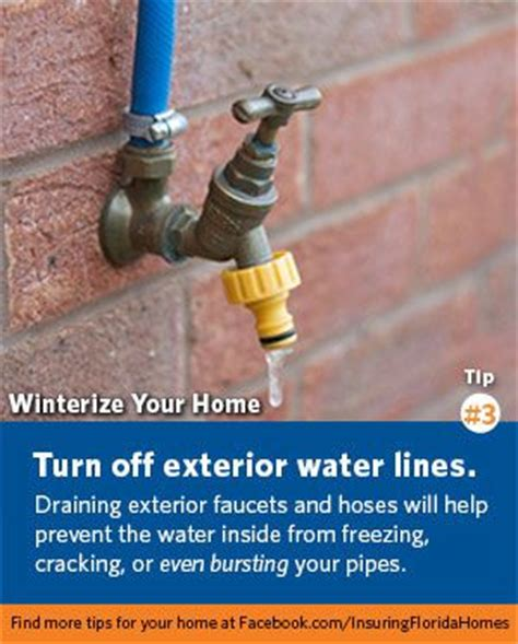 Cold Weather Plumbing Tips by An Important Tip For Homeowners Everywhere Protect Your Home From Cracked Or Broken Pipes And