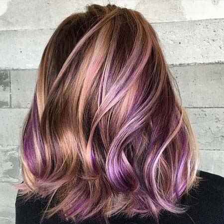 two tone hair color ideas for hair two toned hair color ideas for medium length hair buzfr