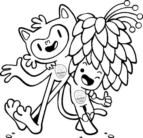 Olympic Coloring Pages by 2016 Olympics Coloring Judges Coloring Pages
