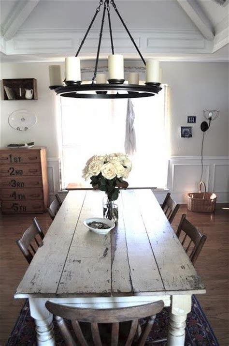 Rustic Formal Dining Table I Am The Chandelier And Harvest Tables On