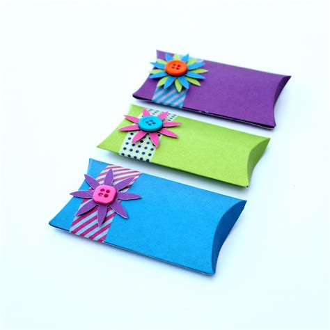 how to make a pillow gift box how to make your own pillow boxes without a template you