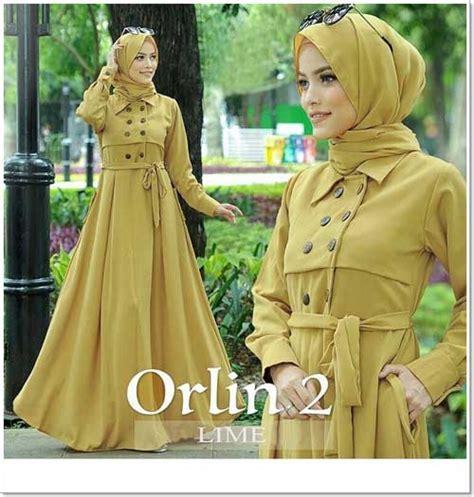 Baju Warna Hijau Lime jual baju gamis katun anggun orlin dress bahan ima platinum