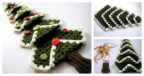 crocheted trees diy crocheted tree with free pattern