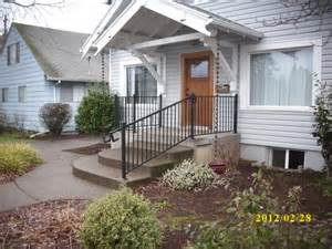 metal railing metal porch railing deck masters llc portland or